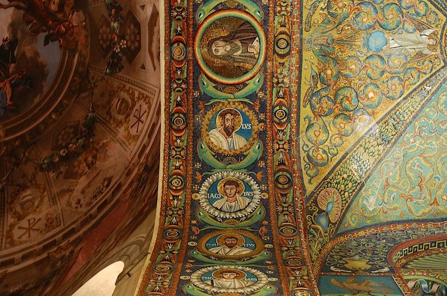 мозаика в Сан-Витале