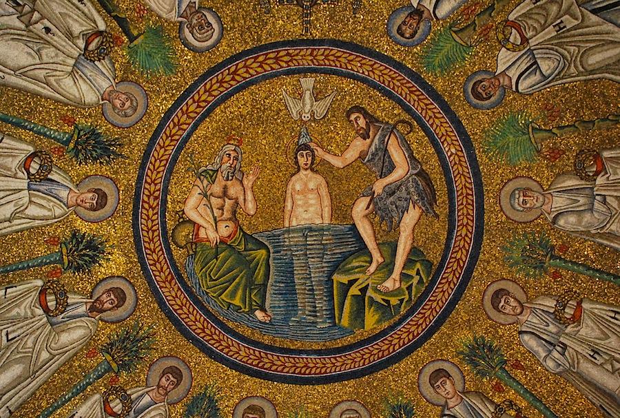 баптистерий арианцев, Равенна