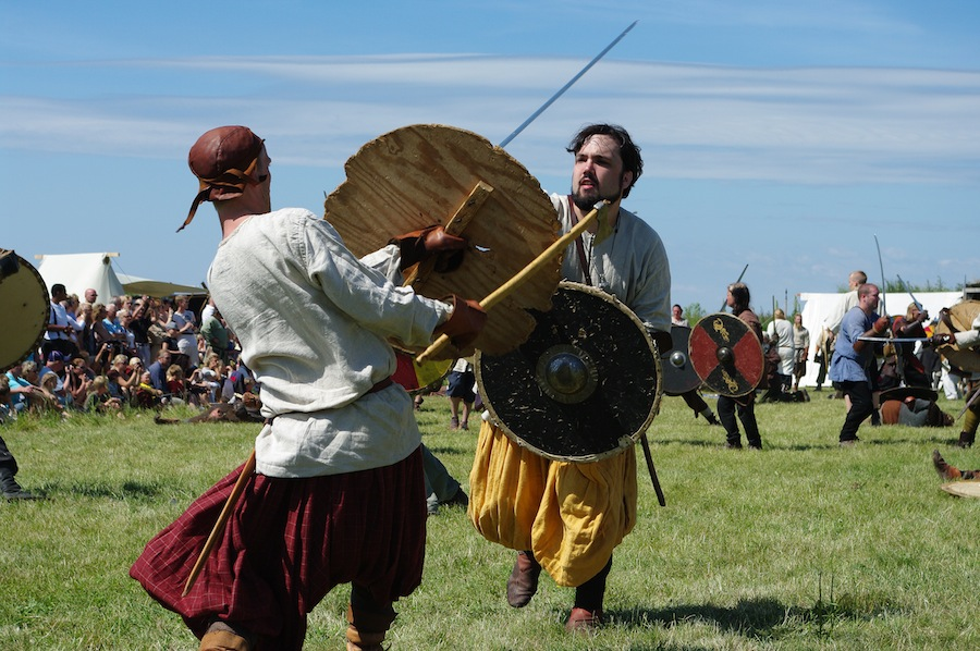 фестиваль викингов в Foteviking в 2009 году, источник фото: http://www.fotevikensmuseum.se
