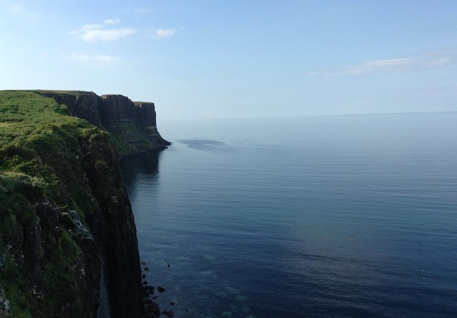 утесы на острове Скай, Шотландия