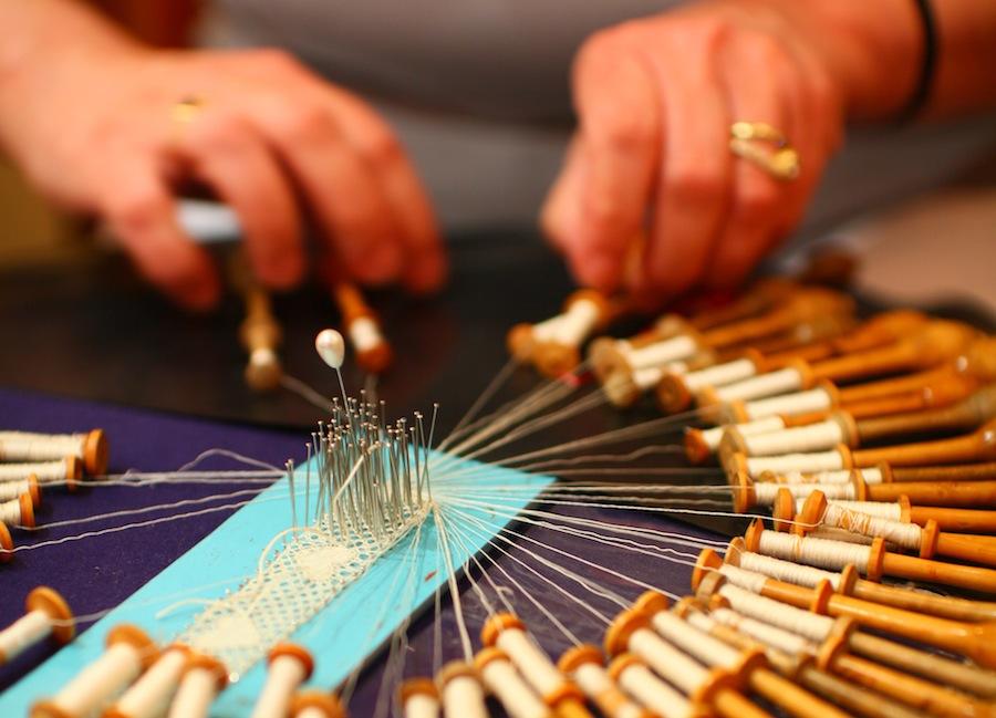 плетение кружева, Брюгге