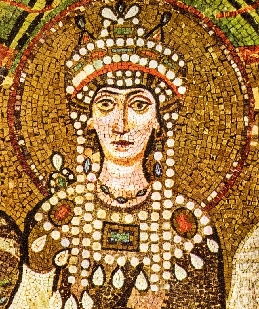 Императрица Феодора, мозаики Сан-Витале, Равенна