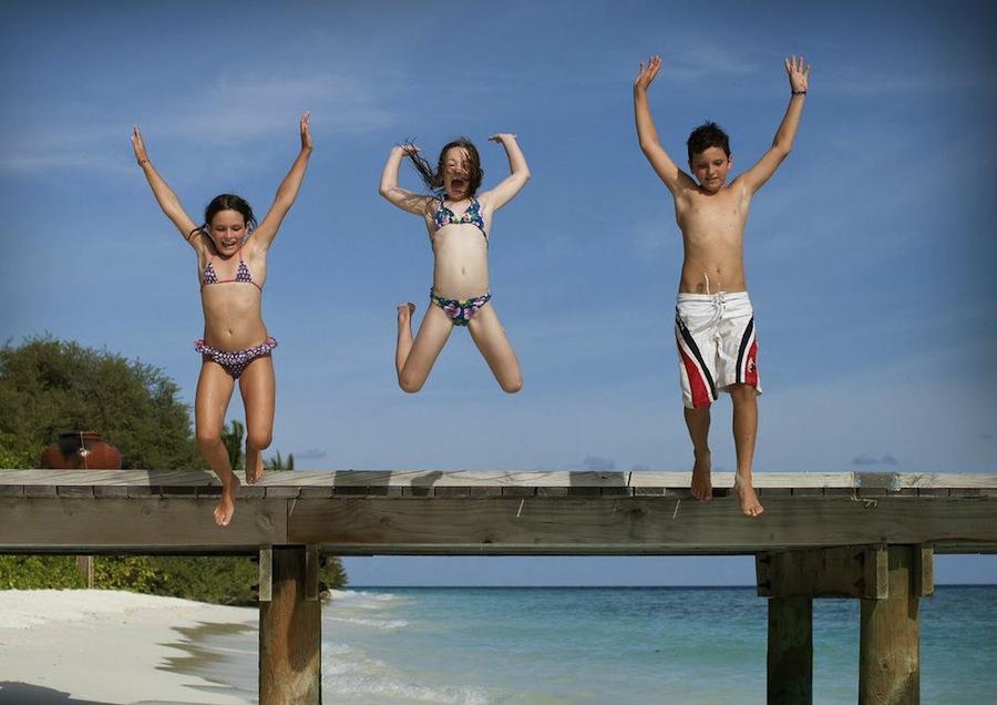 отдых с детьми на Мальдивах