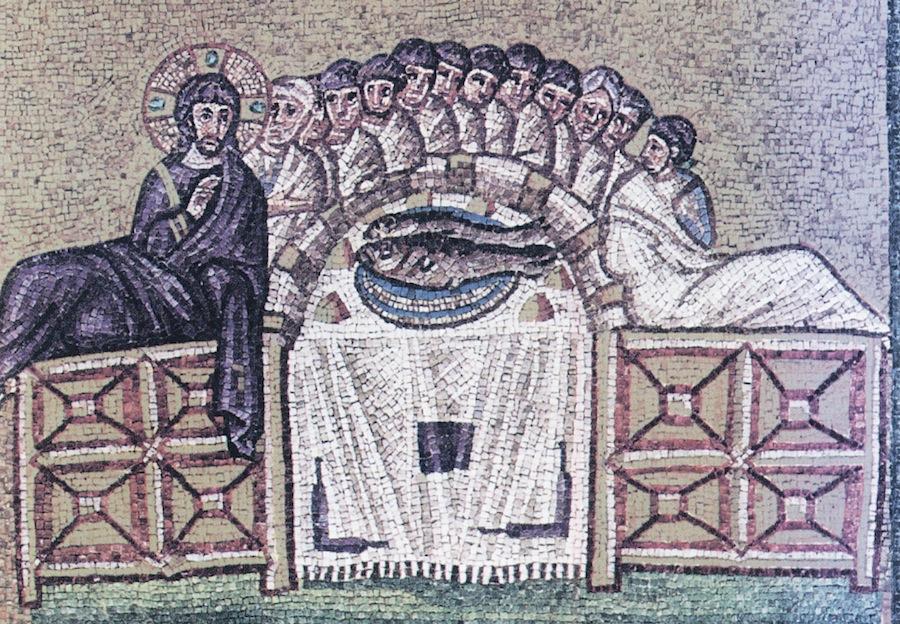 мозаики в Sant'Apollinare Nuovo