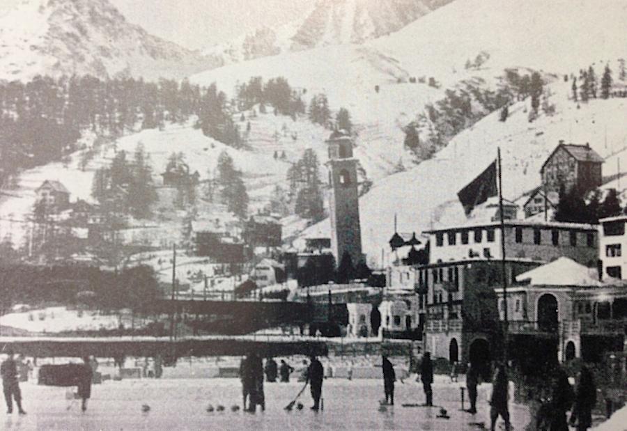 Санкт-Мориц, игра в керлинг 1933 год