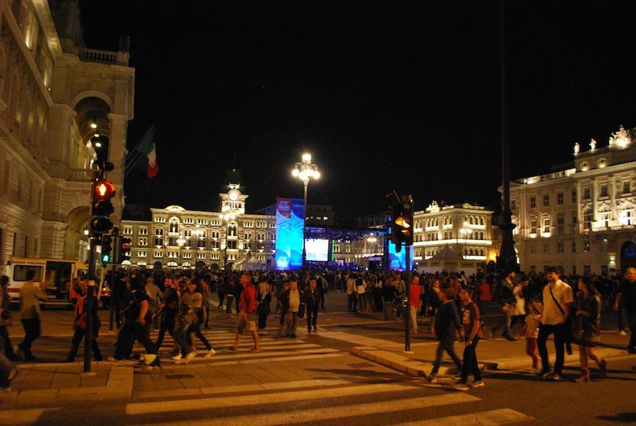 Триест, Piazza Unità d'Italia
