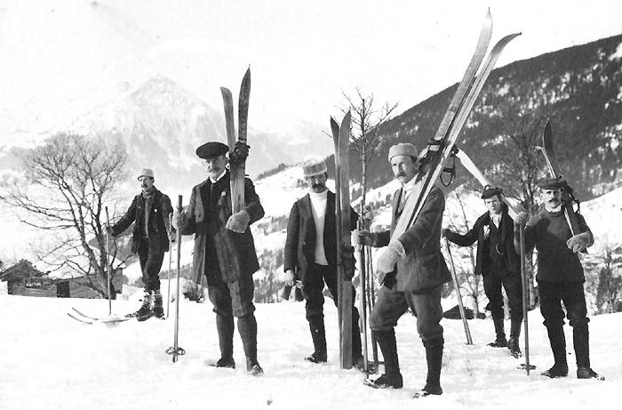 Лыжный клуб, 1907 год