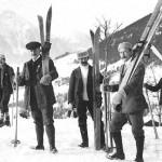 Горные лыжи в Швейцарии: как все начиналось. Архивные фото прошлого века