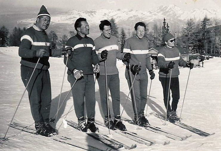 Лыжная школа Тион ле Коллон