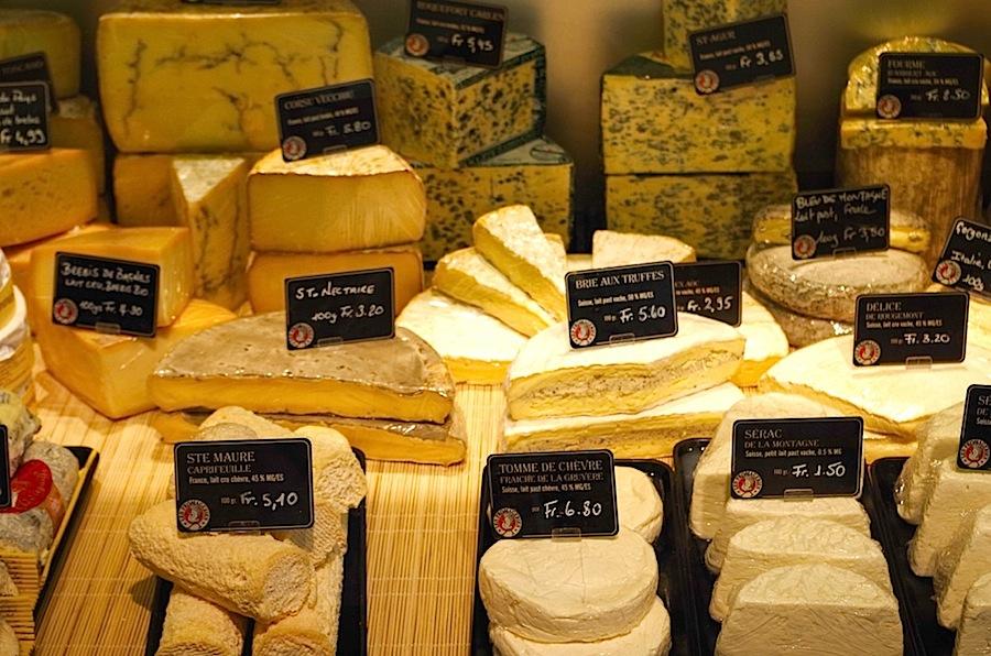 Сырная лавка в Веве, сыр, сыры. Швейцария