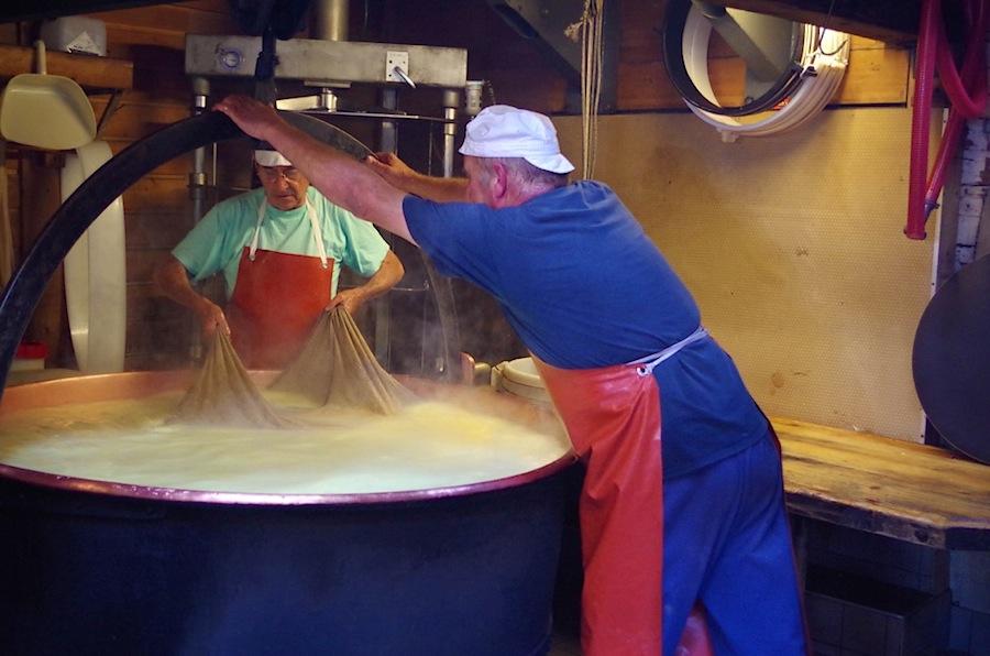 производство сыра, Швейцария