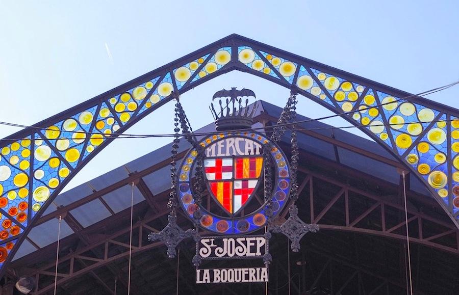 рынок La Boqueria, Барселона, Испания