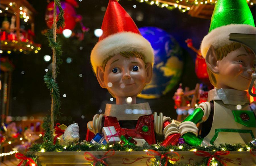 рождество, Macys, Нью-Йорк