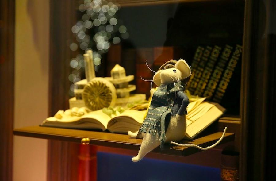 мышь, витрина, Нью-Йорк