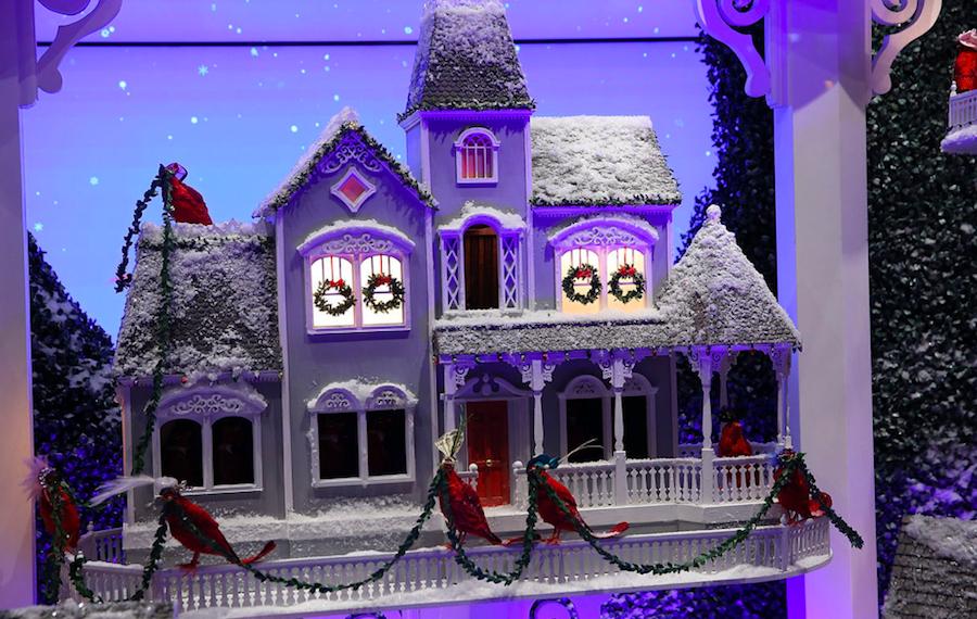волшебный особняк, Рождество, Нью-Йорк