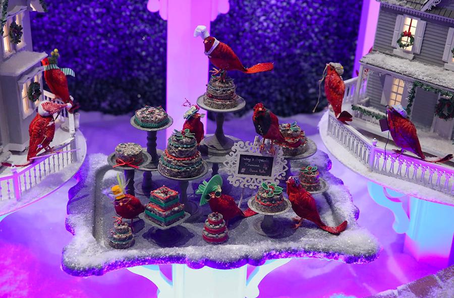витрина, рождество, Нью-Йорк