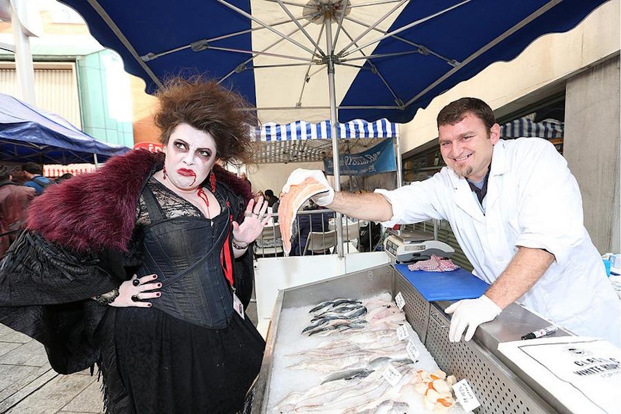 вампиры рыбу не едят