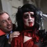 Как отпраздновали Хэллоуин в Дублине: вампиры, зомби и граф Дракула собственной персоной