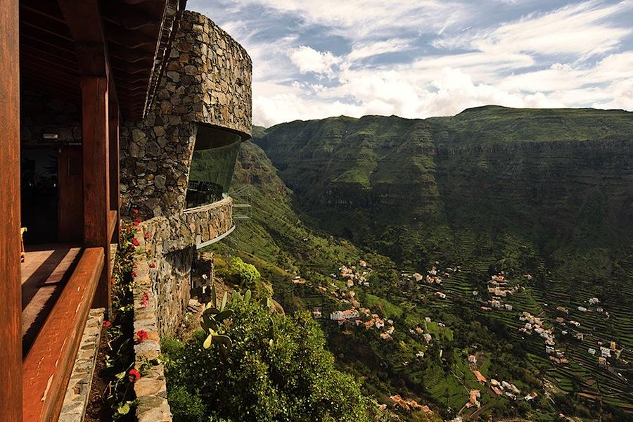 Канары, Канарские острова, Ла Гормера, la Gomera, Вид на долину Valle Gran Rey