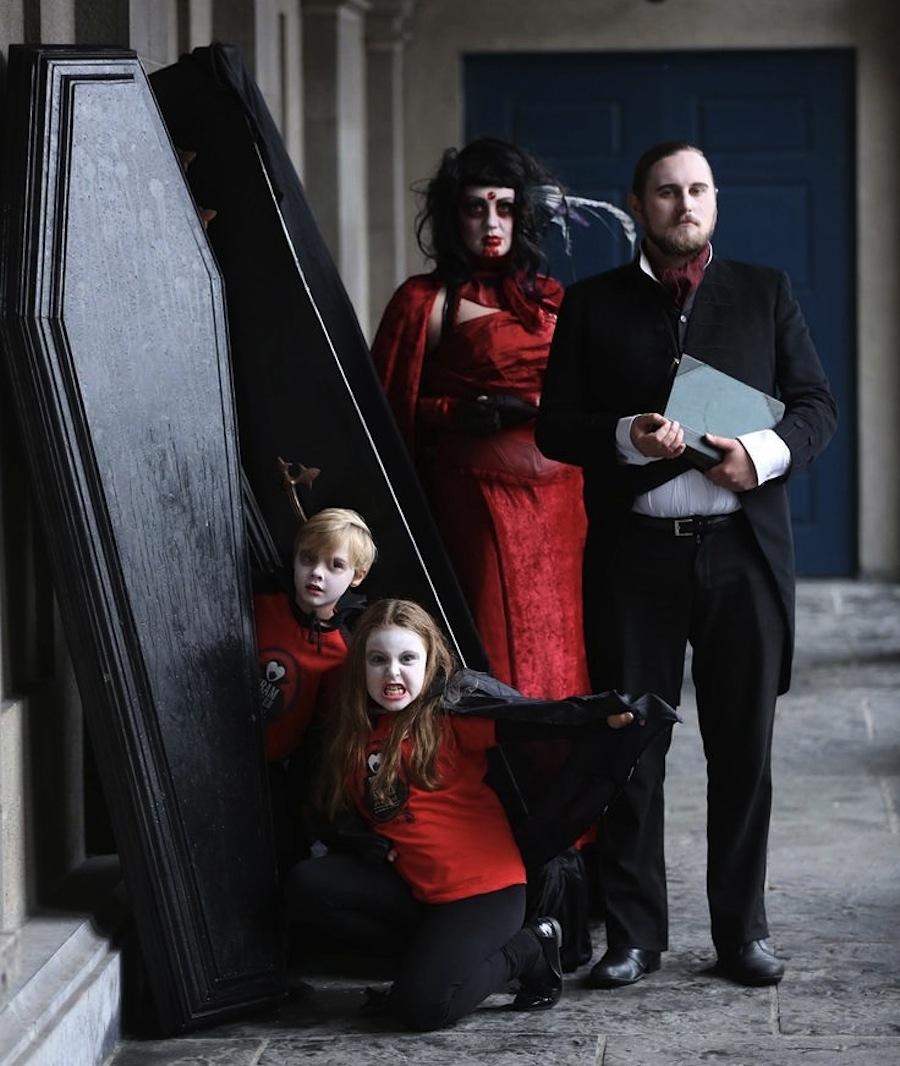 семья Дублинских вампиров приглашает на фестиваль