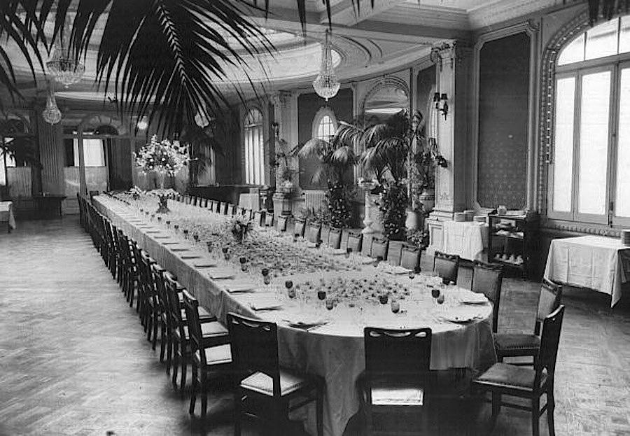 Majestic Hotel Inglaterra, архивное фото, 1929 год