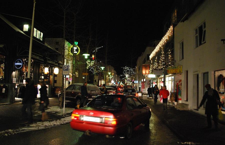 рождественский Рейкьявик, Исландия