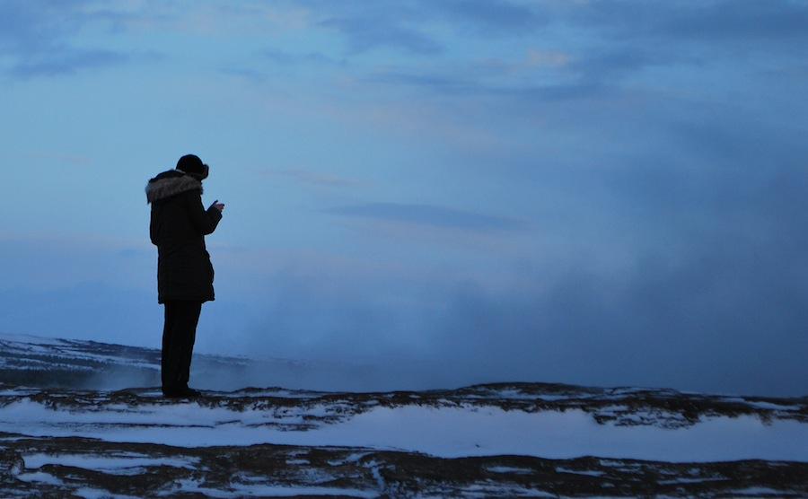 парка поверх куртки - тоже вариант для Исландии