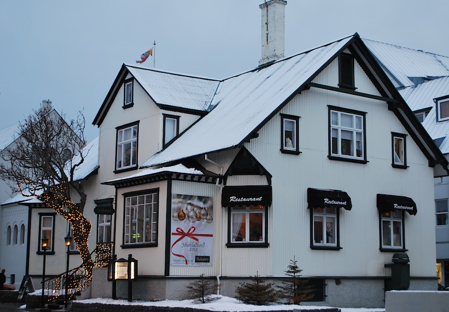 ресторан Рейкьявика, Исландия