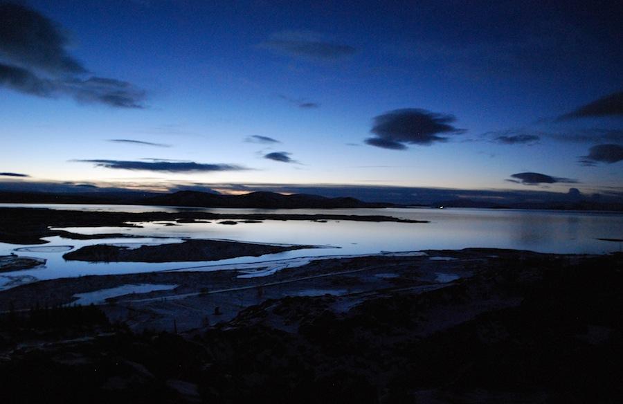 Исландия, небо