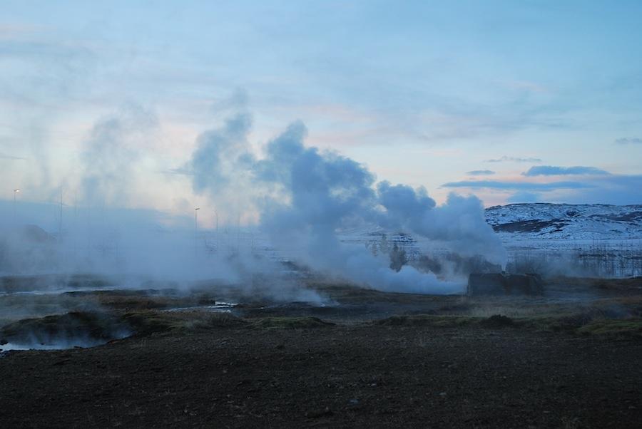 Долина гейзеров, Исландия