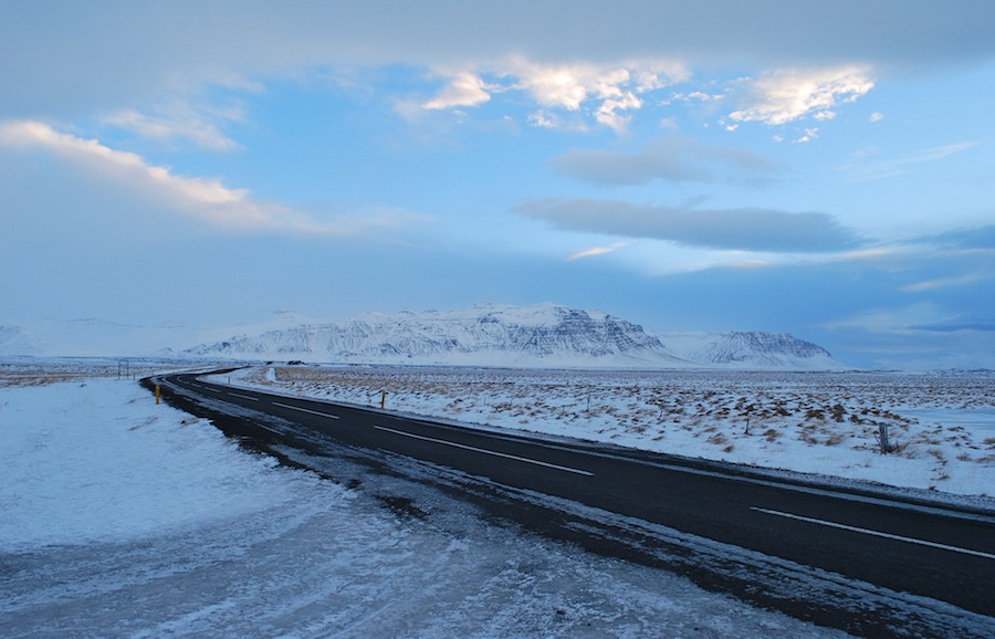 дороги Исландии