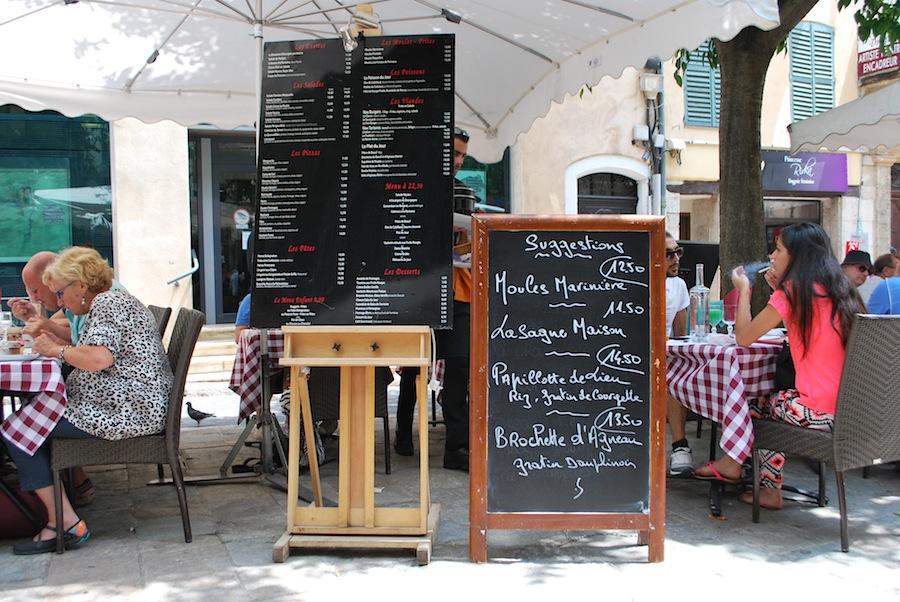 кафе в Провансе