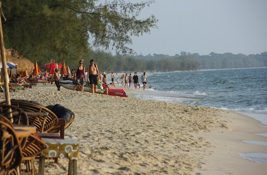 Сиануквиль (Кампонгсаом), Камбоджа, пляж, Азия