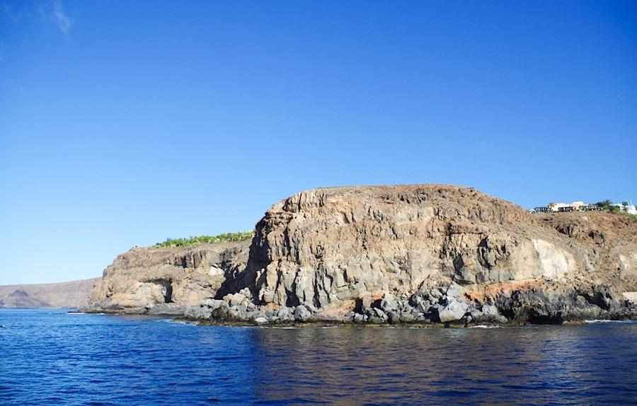 Бухта Playa Santiago, Канары, Канарские острова, остров Ла Гомера, остров La gomera