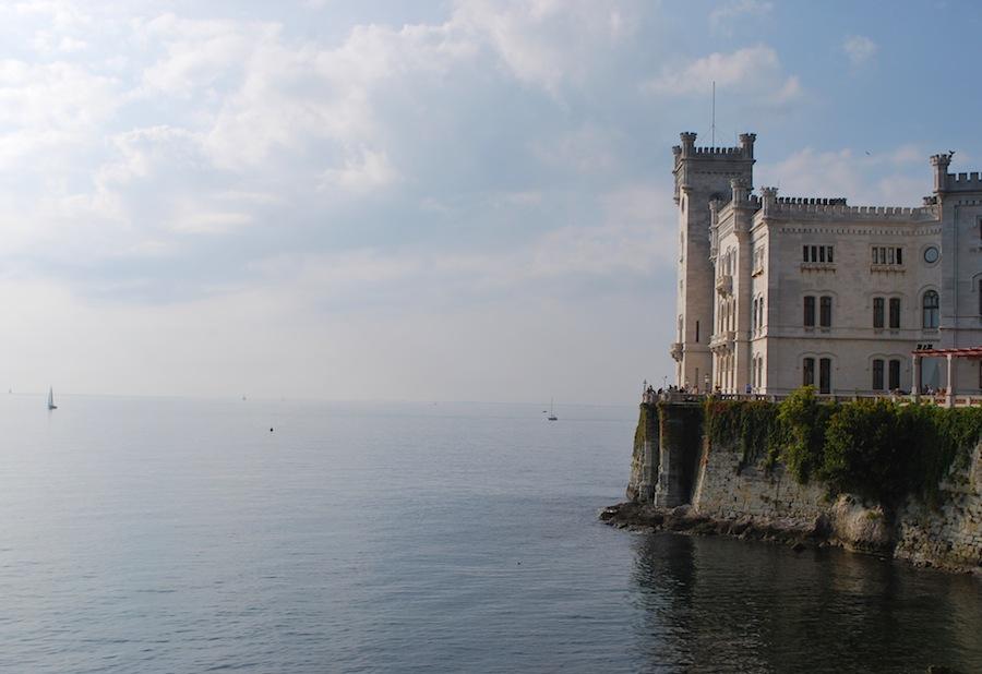 замок Мирамаре, Триесте