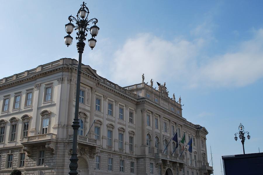 Piazza dell'Unita d'Italia, Триест