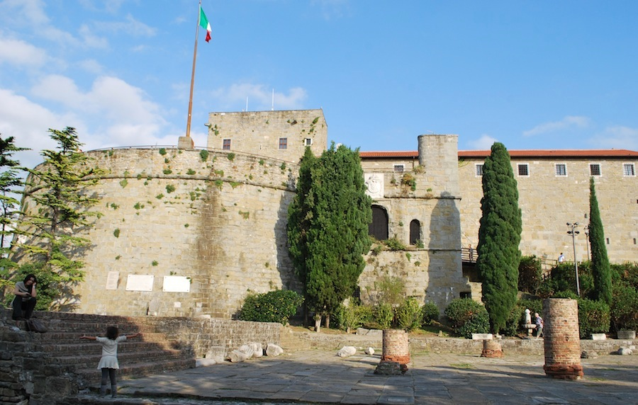замок Триеста