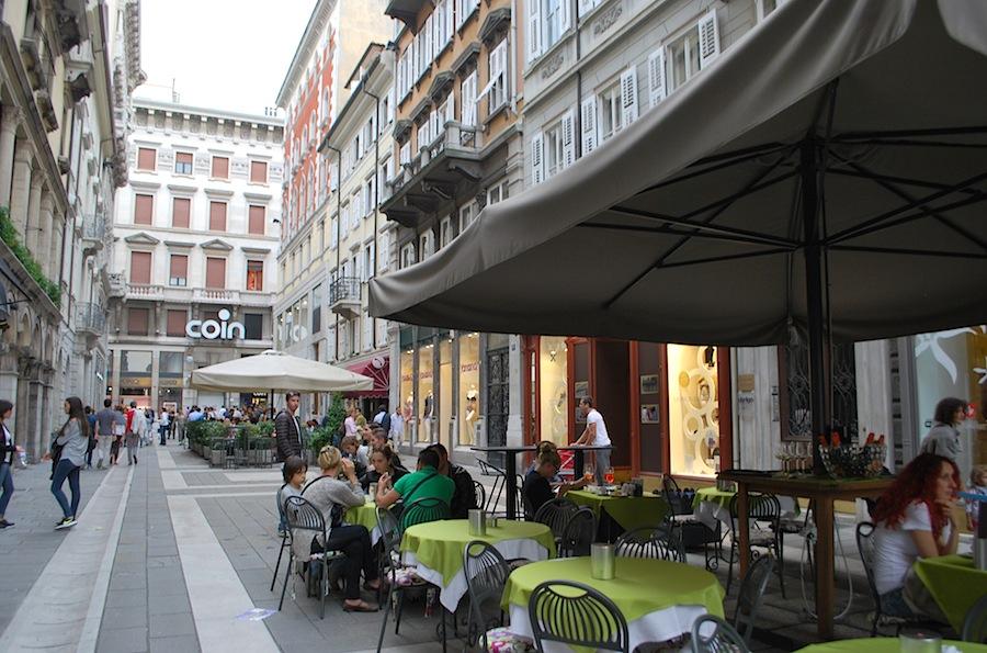 пешеходная улица Триеста