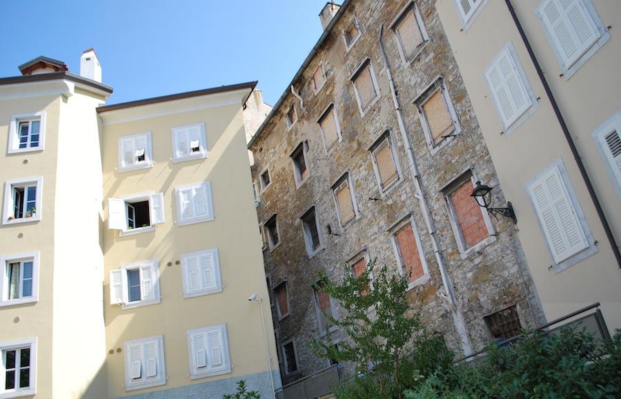 дома в средневековой части Триеста