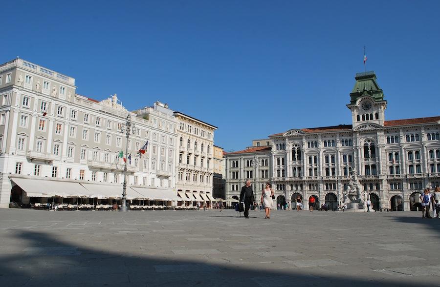 Piazza dell'Unita d'Italia, Площадь Единства Италии, Триест