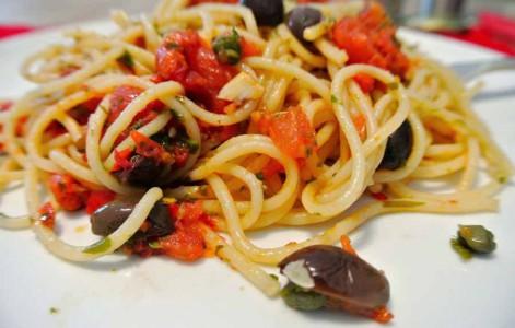 рецепт фото спагетти путанеска
