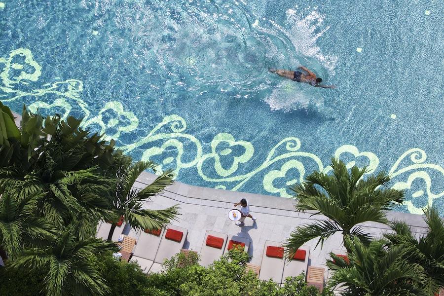 bangkok, бассейн в Mandarin Oriental