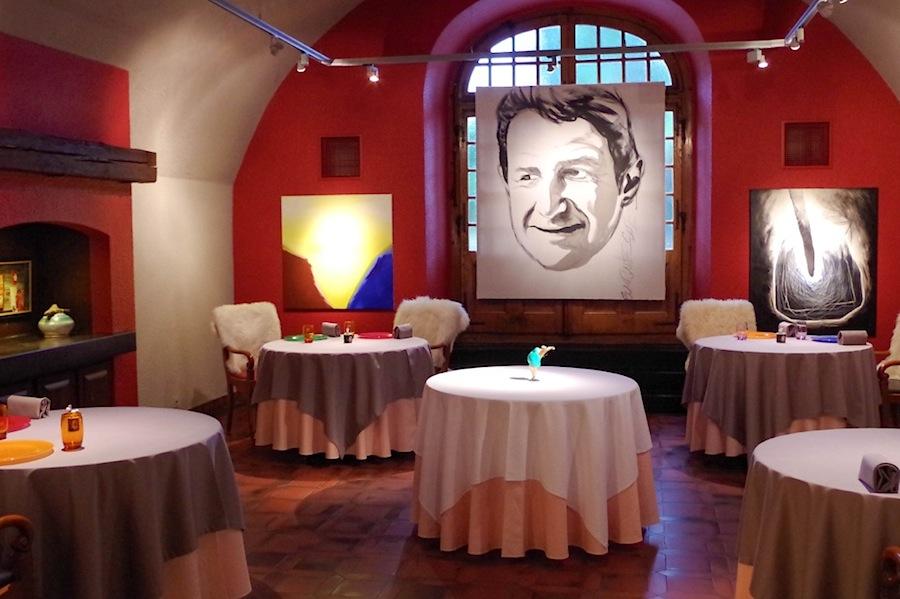 интерьер ресторана Denis Martin