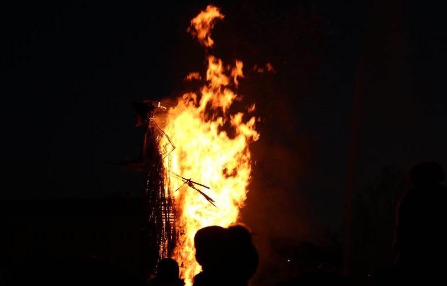 сожжение ведьмы, Бефана, Бефана в Падуе