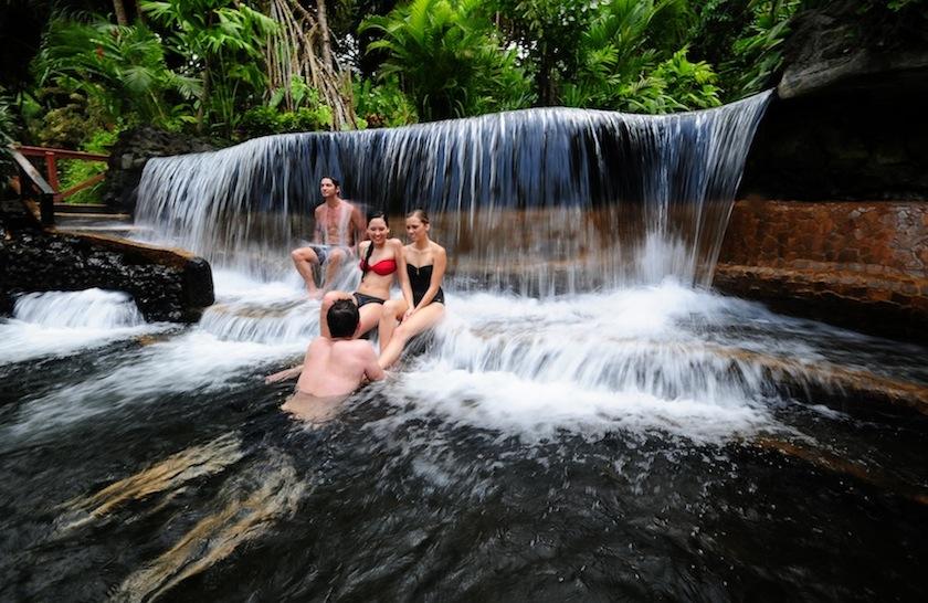 Источники Tabacon, Коста-Рика