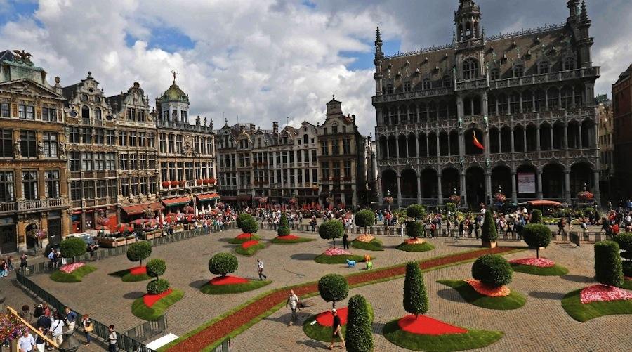 Фестиваль Цветов в Брюсселе