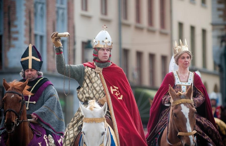 Шествие святой крови в Брюгге