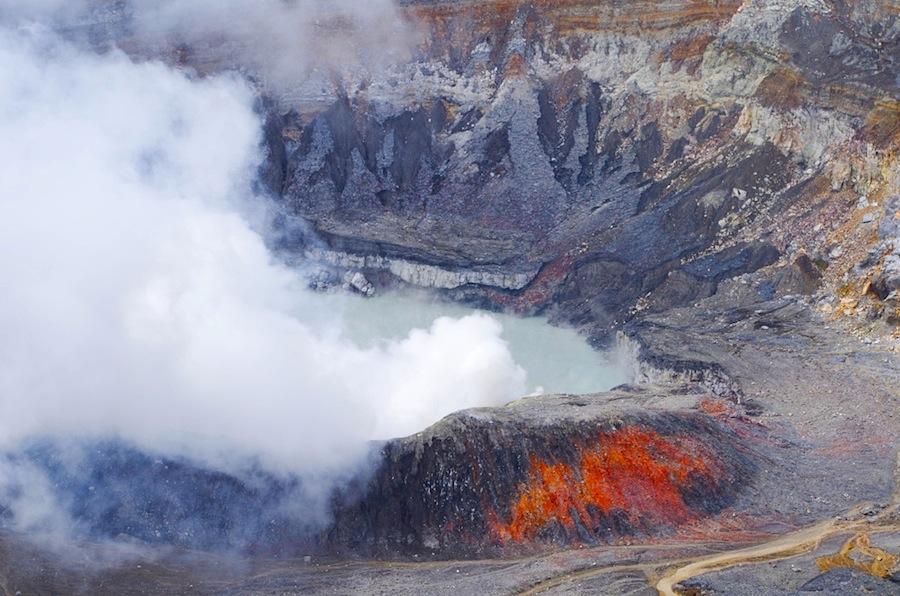 Вулкан Поас, Коста-Рика