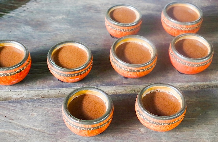 горячий шоколад, Коста-Рика