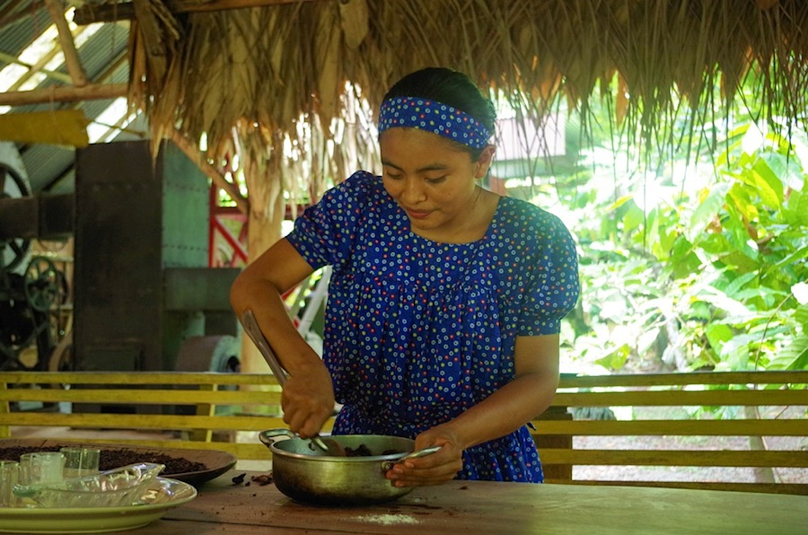 приготовление брибри с шоколадом